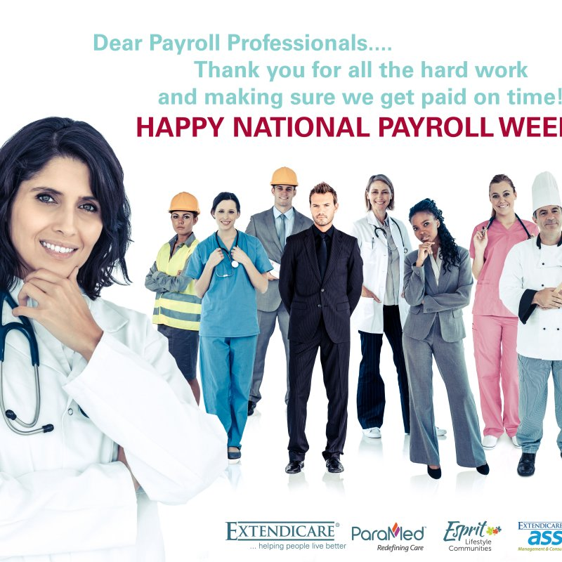 Photo of Happy National Payroll Week!