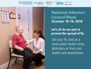 It is National Infection Control Week