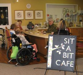 Extendicare Lakefield Sit-a-Bit Cafe every Tuesday 3-4pm