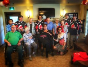 Meet-and-greet with the Moose Jaw Warriors hockey team
