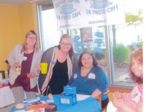 Extendicare Halton Hills hosts coffee break in support of the Alzheimer Society of Canada