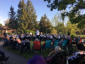The Ottawa Community Concert Band perform at Extendicare West End Villa