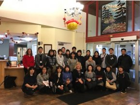 International study group from Japan visits Extendicare Guildwood.